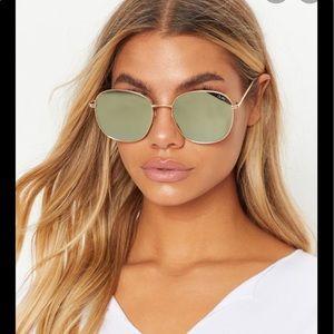Quay Australia gold sunglasses